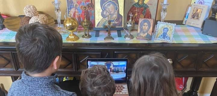 Celebrating Holy Week and Pascha from Home