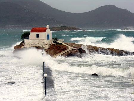 Ayios Isidoros on the Greek Island of Leros